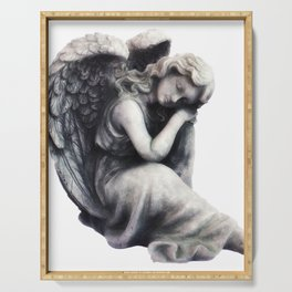 Resting Angel Serving Tray