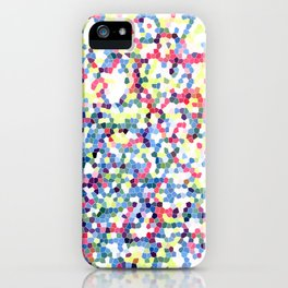 Abstract Hexies iPhone Case