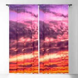 Sunset sky Blackout Curtain