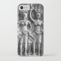 erotic iPhone & iPod Cases featuring Cambodian Erotic Goddesses by 1976