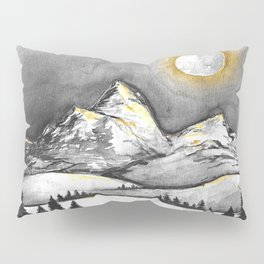 Golden Moon Pillow Sham