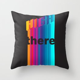 High There II Throw Pillow
