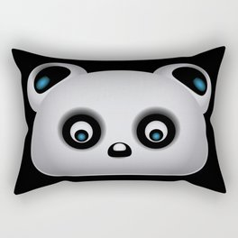 Panda Bear Rectangular Pillow