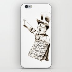 the POPO' paperboy iPhone & iPod Skin