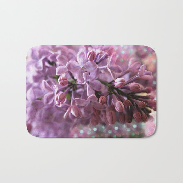 Soft Lilac Glow Bath Mat