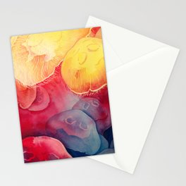 Jellyfish, Moon Jellies Stationery Cards