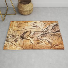 Panel of Lions // Chauvet Cave Rug