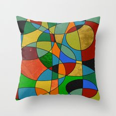 Abstract #148 Throw Pillow