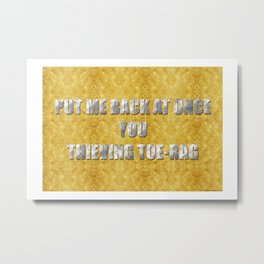 ART THEFT 01 Metal Print