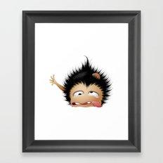 Mr. Zhong Framed Art Print