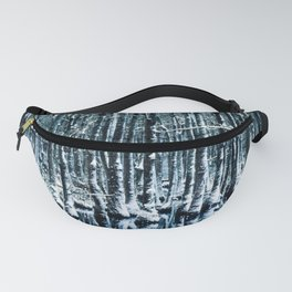 Cypress Swamp Snow Fanny Pack