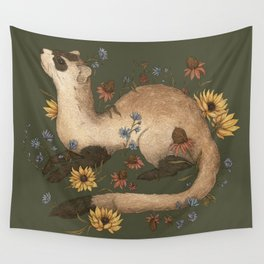 Black-footed Ferret Wall Tapestry