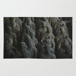Terra-cotta Warriors of Xian China Rug