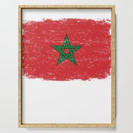 EGYPT FLAG Egyptian Eagle Retro  Gift For Egyptian Serving Tray