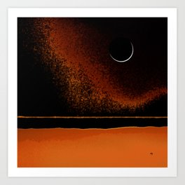 March New Moon Art Print