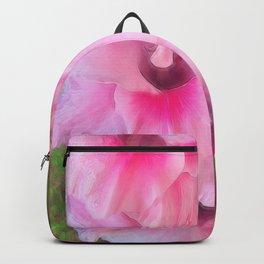 Light Pink Gladiolas Backpack