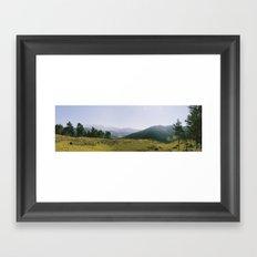 Panorama Framed Art Print