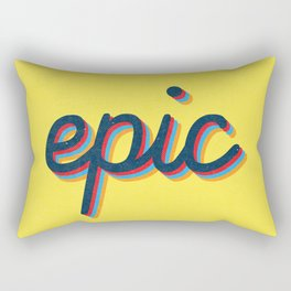 Epic - yellow version Rectangular Pillow