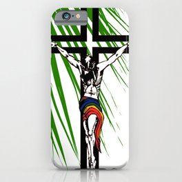 The Holy Week Christs Journey To The Cross iPhone Case