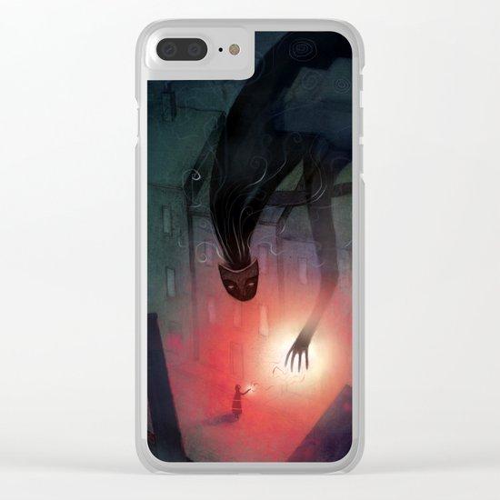 Shadow Friend Clear iPhone Case