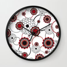 Flowers For My Sweetheart. Wall Clock