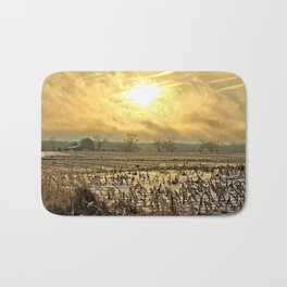 Overcast Sunrise 2 Bath Mat