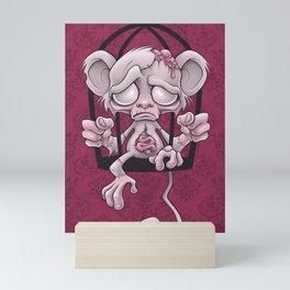 Poor Little Monkey Mini Art Print