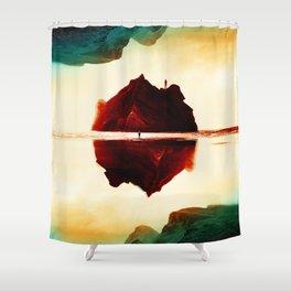 Isolation Island Shower Curtain