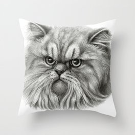 Persian Cat SK072 Throw Pillow