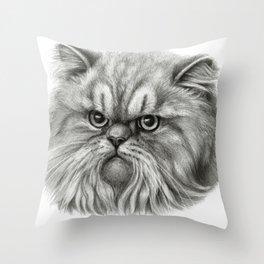 Persian Cat SK072 Throw Pillow