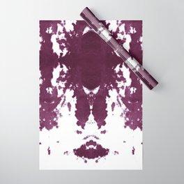 Velvet Kumo Shibori Plum Wrapping Paper