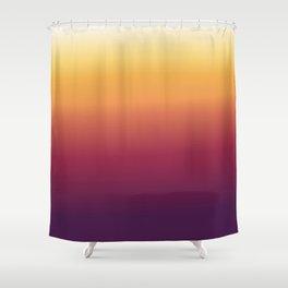 Sunset blurred abstract digital illustration  Shower Curtain