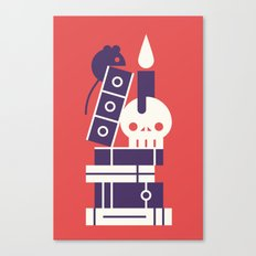 Books! Canvas Print