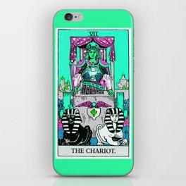 7. The Chariot- Neon Dreams Tarot iPhone Skin