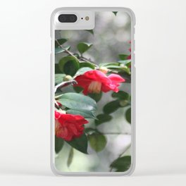 Camelia Clear iPhone Case