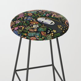 Kaonashi no-face christmas Bar Stool