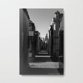 Recoleta cemetery Metal Print