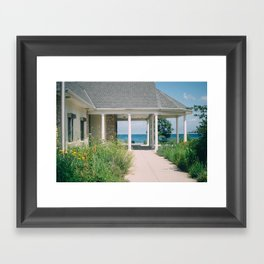 So. Mil. Beach Framed Art Print