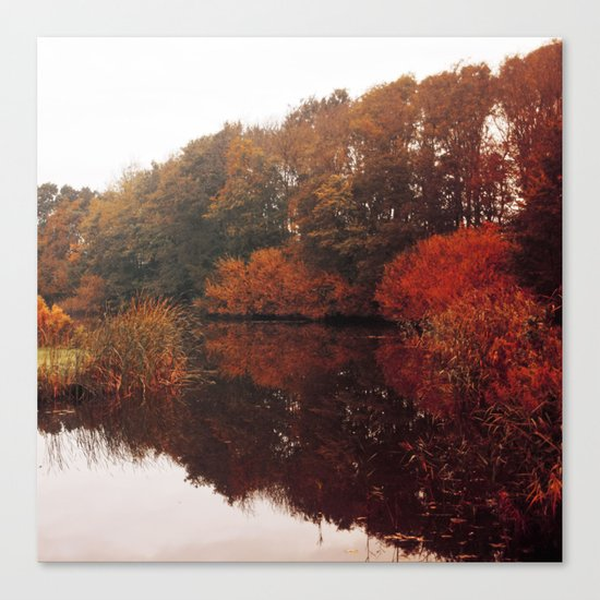 Autumn Scenery #5 Canvas Print