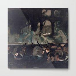 "The Ballet Scene from Meyerbeer's Opera ""Robert Le Diable"" Metal Print"