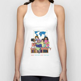 Read Together Stay Together Unisex Tank Top