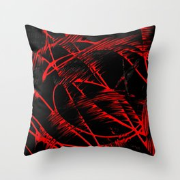 Whipped Into Motion 2 Throw Pillow