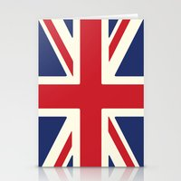 uk Stationery Cards featuring UK by Lucy Jacquard
