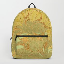 Sunflowers Golden Garden Backpack