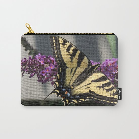 Western Tiger Swallowtail in the Shade Carry-All Pouch