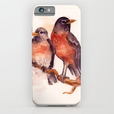 Two Robins iPhone 6s Slim Case