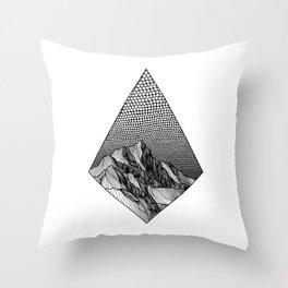 Over the Edge Throw Pillow