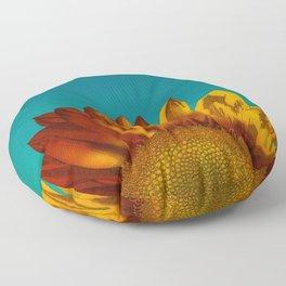 A Sunflower Floor Pillow