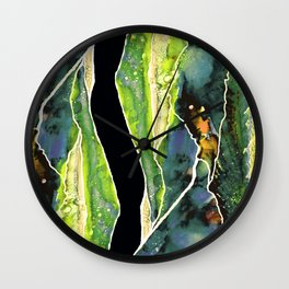 Abstract Landcsape Wall Clock
