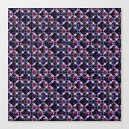 Retro Box Pattern Canvas Print